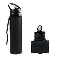 Складная бутылка для воды iFDA 600 мл Черная HbP050352, КОД: 1209526