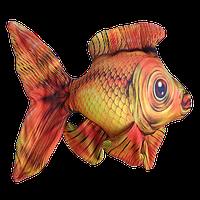 Антистресс игрушка Цацки-Пецки Золотая рыбка 180119, КОД: 1190105