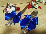 Нож и лопатка Классика. Цвет синий., фото 2