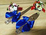 Нож и лопатка Классика. Цвет синий., фото 3