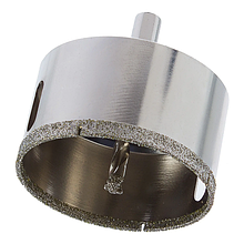 Коронки алмазные с направляющим сверлом по стеклу и керамике