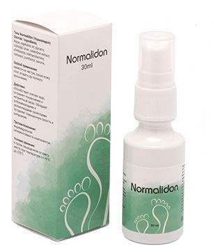 Normalidon - спрей от грибка ног (Нормалидон)