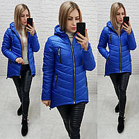 Куртка (арт. 300) ярко-синий / цвет электрик / синяя яркая, фото 1
