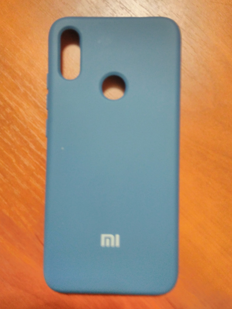 Накладка   Silicon Cover full   для  Xiaomi Redmi Note 7 / Note 7 Pro (темно-синий)