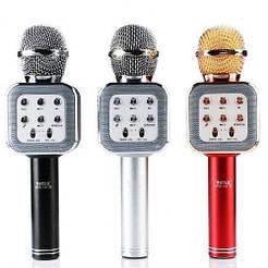 Беспроводной караоке микрофон WSTER WS 1818 Bluetooth