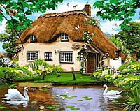 Картина по номерам Brushme 40х50 Сельский домик (GX8291), фото 1