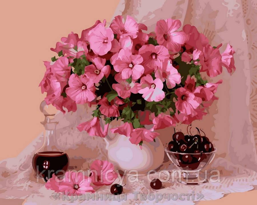 Картина по номерам Brushme 40х50 Цветение и вишни (GX29348)