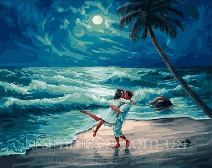 Картина по номерам Brushme 40х50 На берегу океана (GX23713)