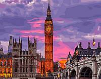 Картина по номерам Brushme 40х50 Лондон на закате (GX29764), фото 1