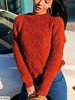 Вязаный зимний свитер женский теплый свитшот размеры 42-46  Новинка есть цвета