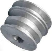 Шкив 3-х ручейковый (профиль А) 19 мм внутренний; 76 мм-наружный ( 168 F ;170-F) (6,5 л.с.-7 л.с.), фото 1