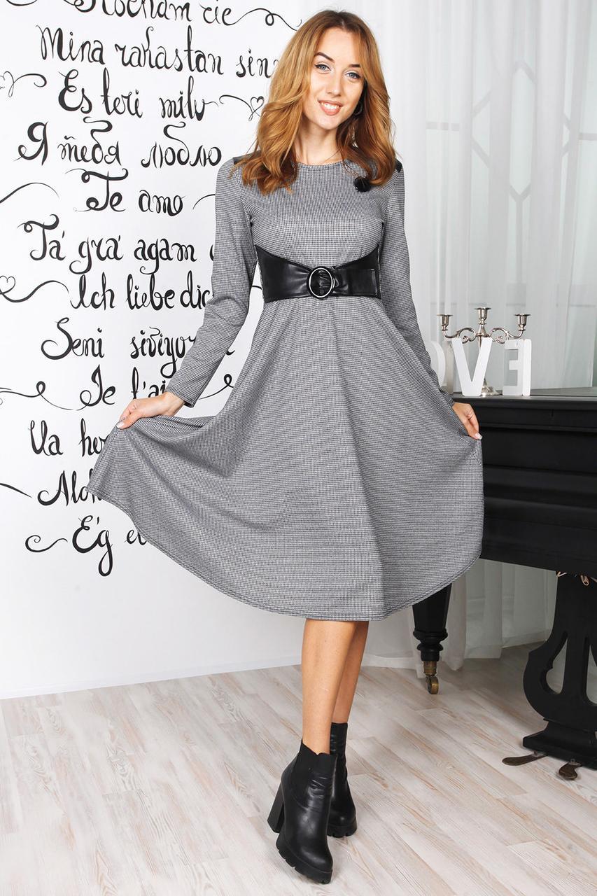 Платье с оригинальным кроем