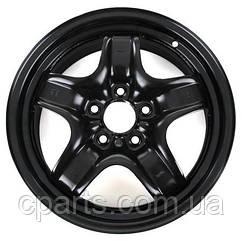 """Диск сталевий 16"""" чорний Renault Megane 3 хетчбек (оригінал)"""