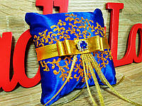 Подставка для колец Stile (синя-золотая)