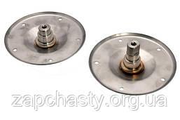Фланец (опора барабана) для стиральной машины Whirlpool 480110100802, нержавейка (комлект)