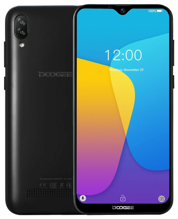 Doogee Y8C 1/16 Gb black