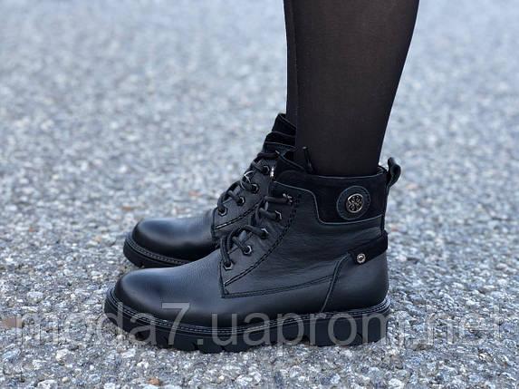 Женские зимние ботинки нат. кожа, нат.шерсть, фото 2