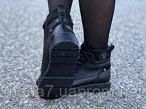 Женские зимние ботинки нат. кожа, нат.шерсть, фото 3