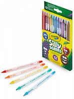 Выкручивающиеся ароматизированные цветные карандаши (12 шт), Silly Scents, Crayola