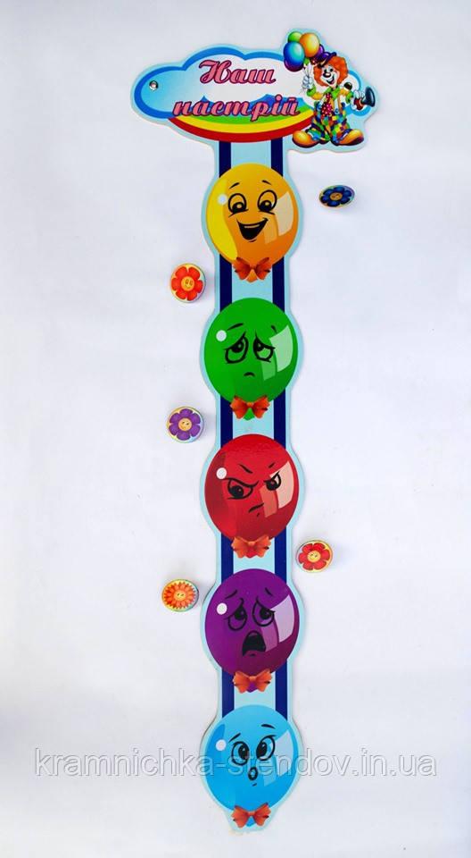 Куточок настрою в школі повітряні кульки