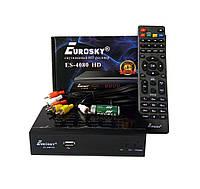 Спутниковый ресивер тюнер Eurosky ES-4080 HD +Прошивка + Гарантия 12 мес