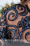 Нарядное платье на праздник батал  Размеры: 56-58, 60-62, фото 5