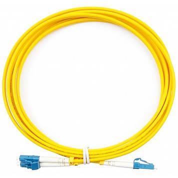 Оптический патчкорд CMS SC/UPC-LC/UPC MM (G50-OM3) Duplex, 2m (UPC-2LCLC(МM)D(ON)