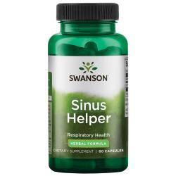 Swanson Sinus Helper Средство для носовых пазух и ходов 60 капсул