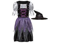 Костюм ведьмы для девочки (7-10 лет), фото 1