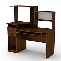 Стол компьютерный комфорт-4 Компанит Орех экко, КОД: 140761