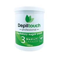 Сахарная паста для депиляции Depiltouch Professional средняя 1600 г 87715, КОД: 302920