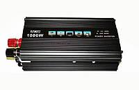 Инвертор преобразователь напряжения UKC 12-220V 1000W Черный hubnp21122, КОД: 666814