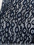 Нарядное платье с сеткой батал Размеры: 48,50,52,54,56,58,60, фото 5