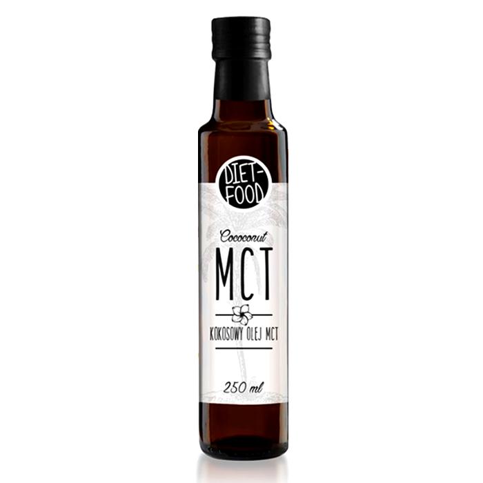 Органическое натуральное кокосовое масло 250 мл Diet Food