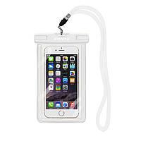 Чехол для мобильного телефона ROMIX водонепроницаемый флюорисцентный Белый RH11W, КОД: 134027