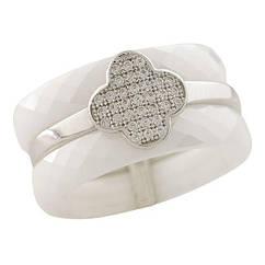 Серебряное кольцо Silver Breeze с керамикой 17.5 размер 1223741, КОД: 1193417