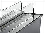 Дизайнерський біокамін Gloss Fire Slider color glass 800, фото 4