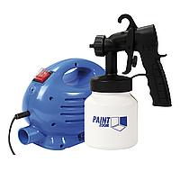 Пульверизатор универсальный Paint Zoom Черно-белый с синим ml-80, КОД: 1258839