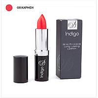 Помада IndigoDi Beauty Color Long Lasting Lipstick 4 г Кармен 0400108, КОД: 1162956