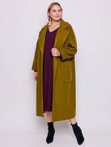 Шикарное двубортное шерстяное пальто размеры 52,54,56,58,60, фото 3