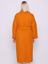 Шикарное двубортное шерстяное пальто размеры 52,54,56,58,60, фото 2
