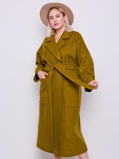 Шикарное двубортное шерстяное пальто размеры 52,54,56,58,60
