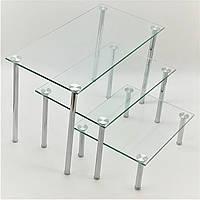 Горка фуршетная Ultra Glass GF-11 500-250 прозрачная