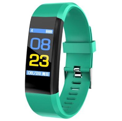 Фитнес-браслет с измерением пульса и давления UTM Smart Band B05 Зеленый