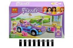 """Brick  """"Friends""""  """"Машина Олівії"""" 129 дет. 10167 р.26х17,5х4,5 см  /96/ scs"""