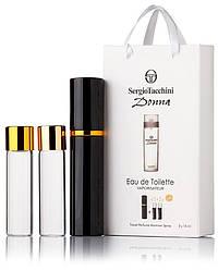 Подарочный набор Sergio Tacchini Donna edt 3X15 ml, женская туалетная вода!