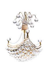 Люстра хрустальная на 6 ламп Sunlight ST975 Золотистый 90146E, КОД: 1286668