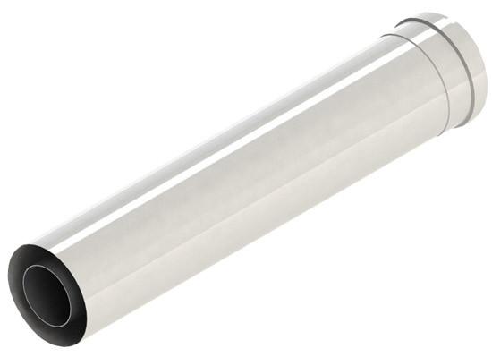 Труба дымовая L = 1000мм, DN110, пластик-РР GB162