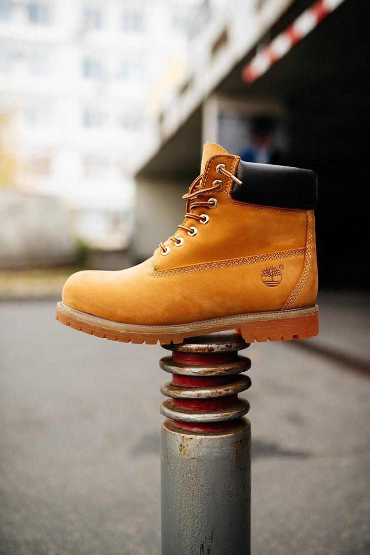 Стильные зимние ботинки Timberland (НА МЕХУ)