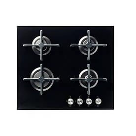 IKEA LIVSGNISTA Газова варильна панель, скляна чорна (602.780.66)
